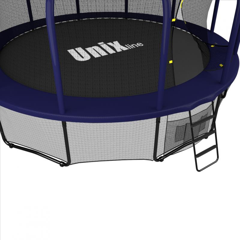 Батут UNIX line SUPREME (blue), 14 ft preview 10