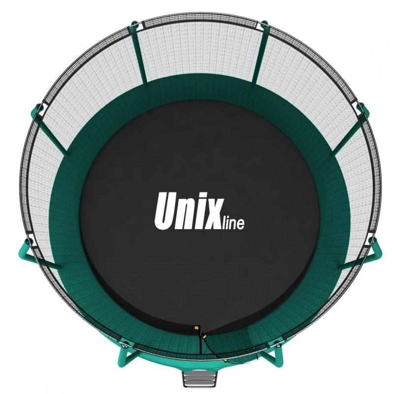 Батут UNIX line SUPREME (green), 8 ft preview 13